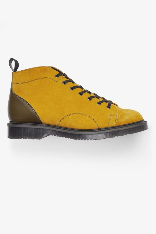 Nicholas Daley Monkey Boot In Pelle Scamosciata
