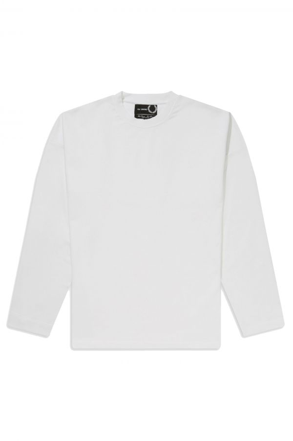 Raf Simons Yoke Print Long Sleeve T-Shirt