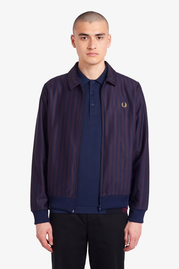 Striped Track Jacket