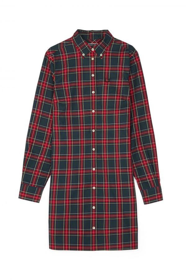Reissues Tartan Shirt Dress