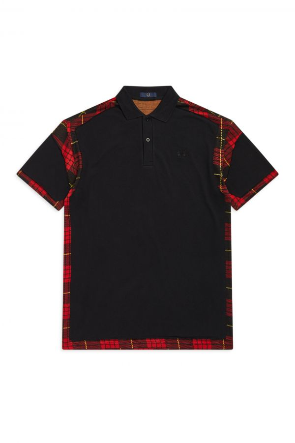 Laurel Wreath Cut-Away Polo Shirt