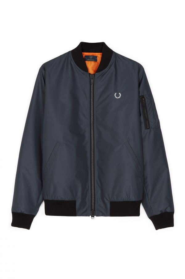 Laurel Wreath Made In England Padded Bomber