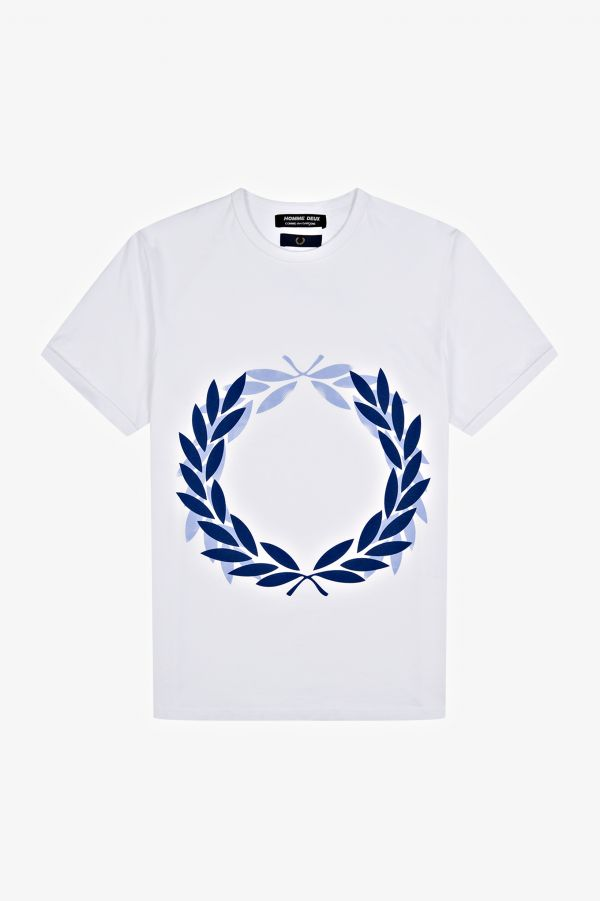 T-Shirt Con Stampa Laurel Wreath