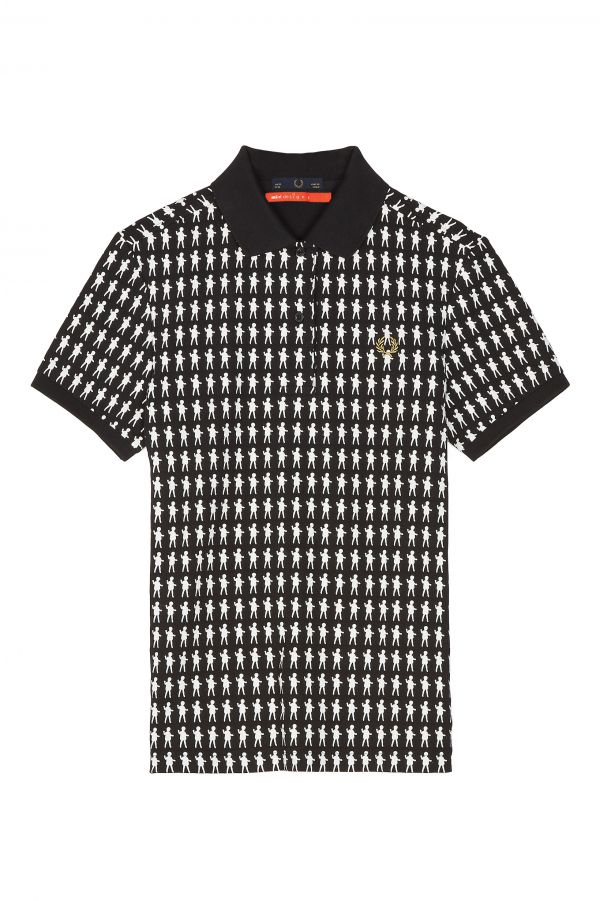 MINTDESIGNS Printed Piqué Polo Shirt