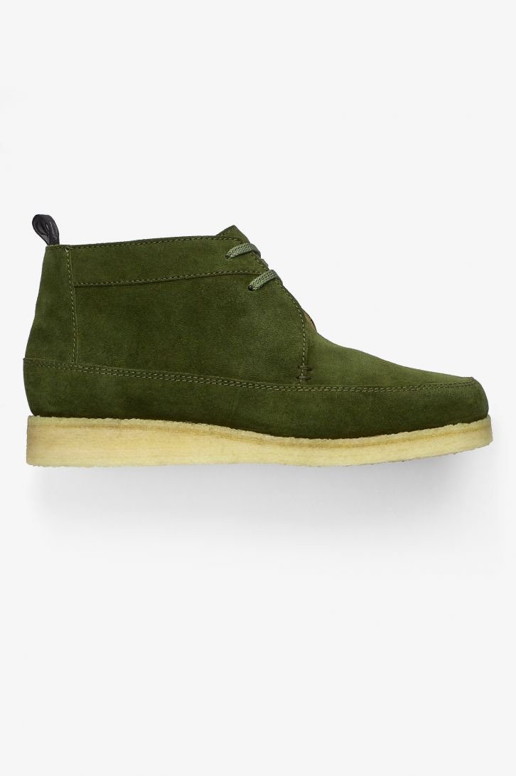 Padmore & Barnes Suede Willow Mid