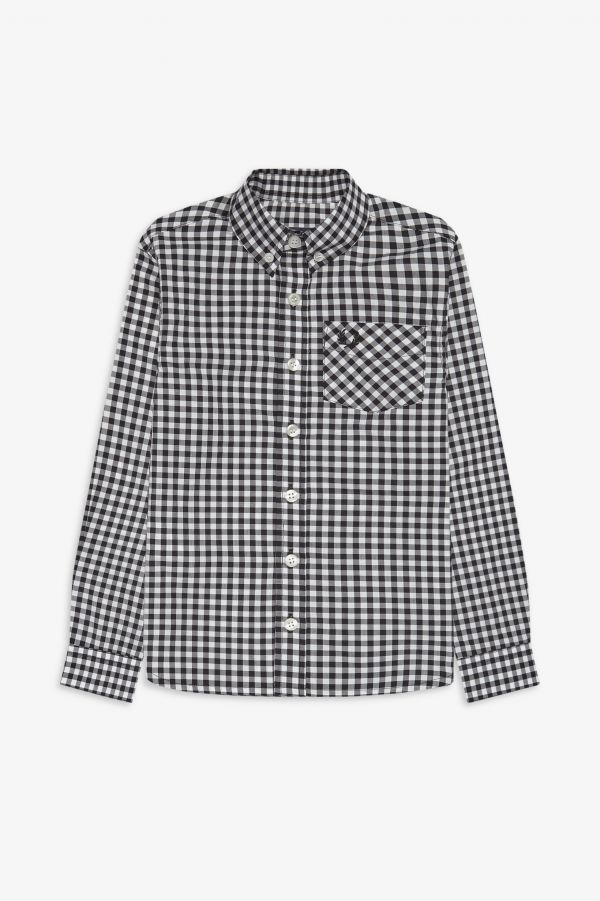 Kids Two Colour Gingham Shirt