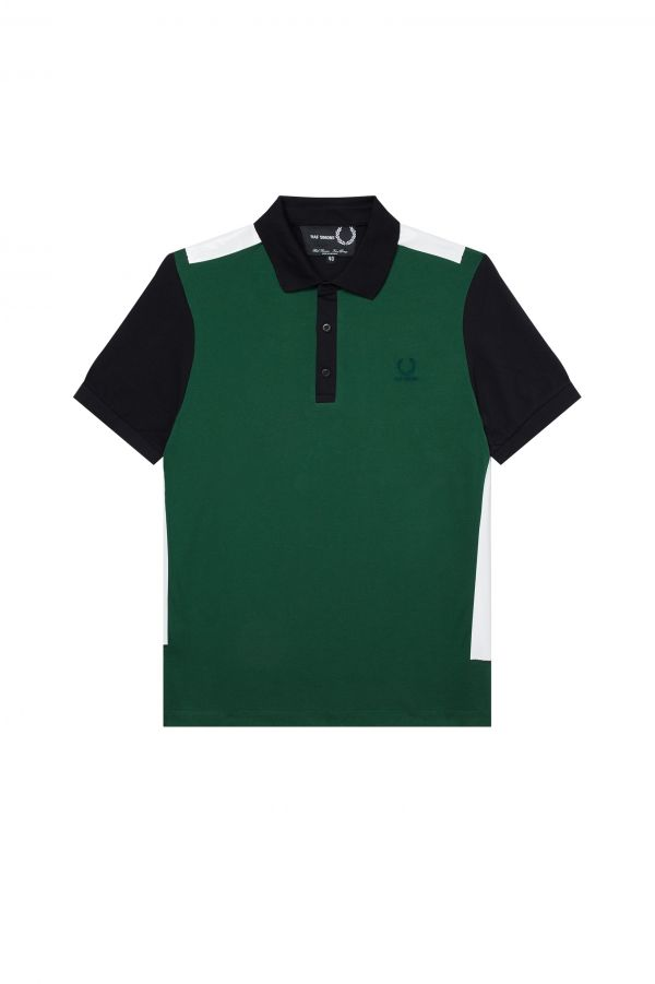 Taped Detail Polo Shirt