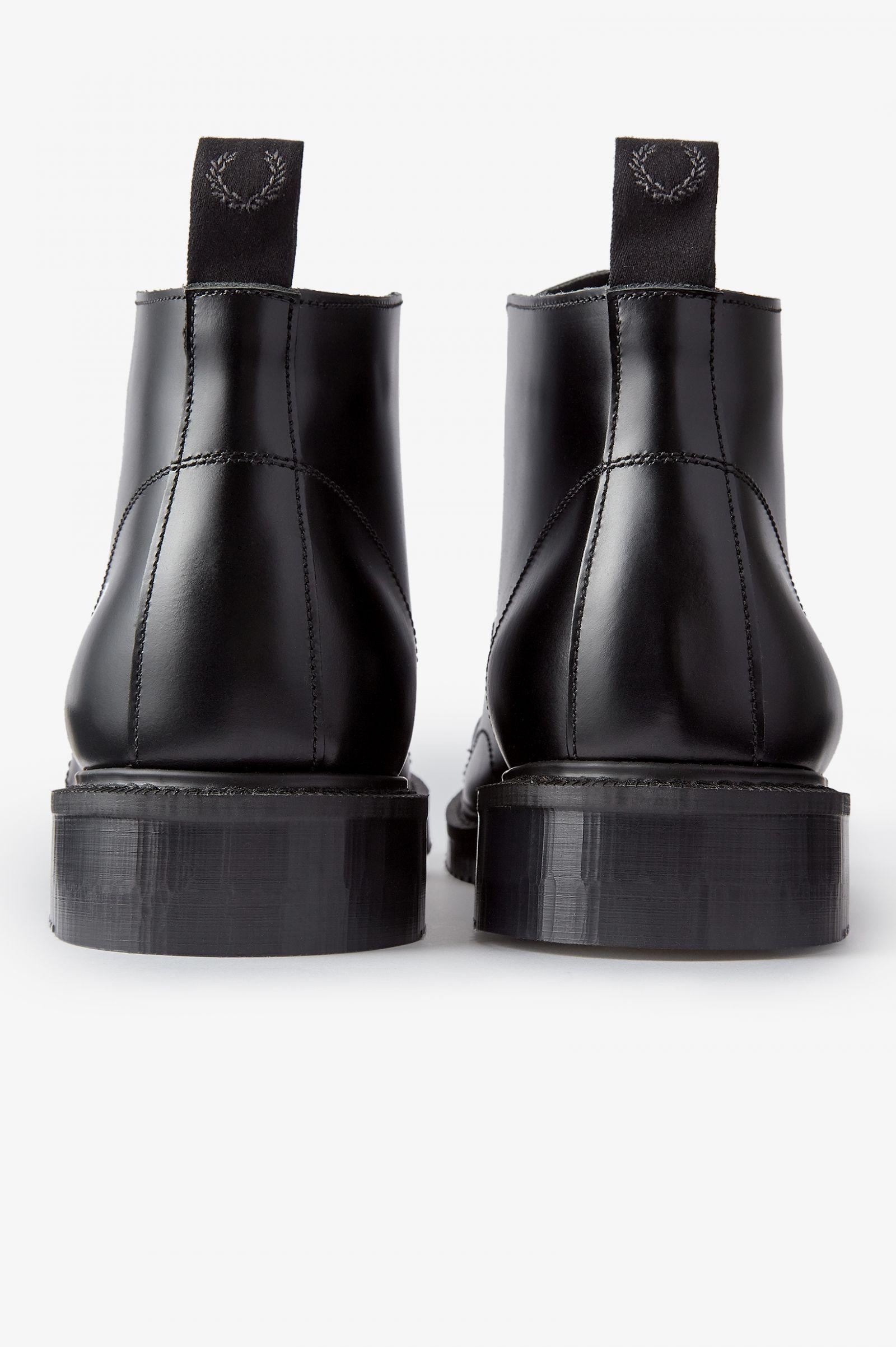 George Cox Leather Monkey Boot - Black