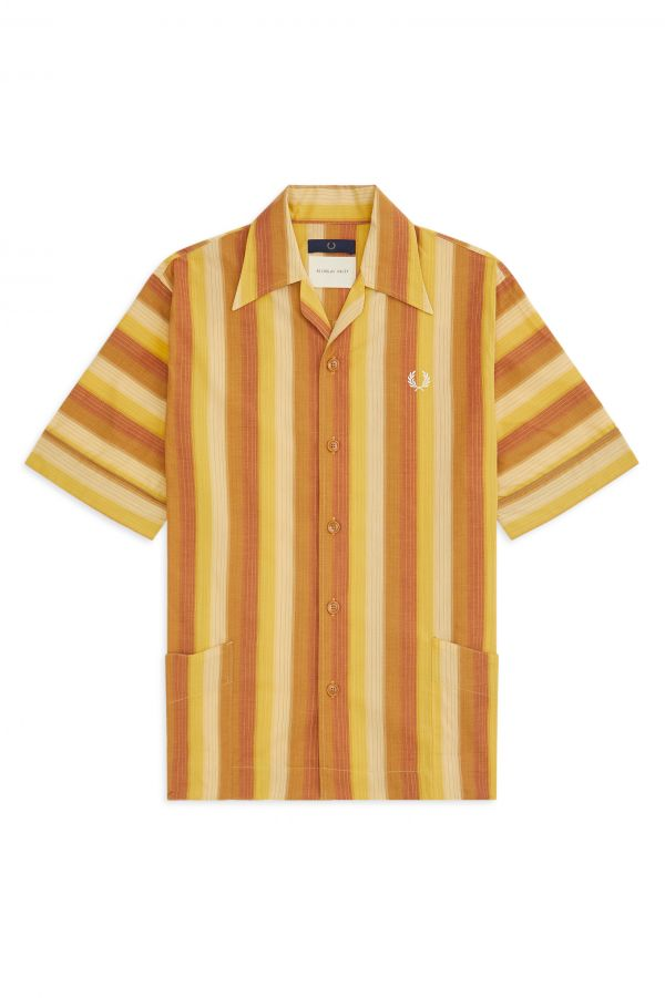 Nicholas Daley Relaxed Striped Shirt