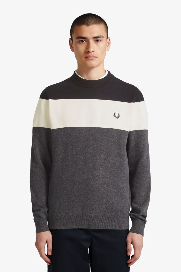 Panelled Jumper
