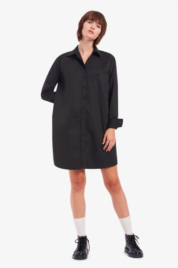 Woven Shirt Dress
