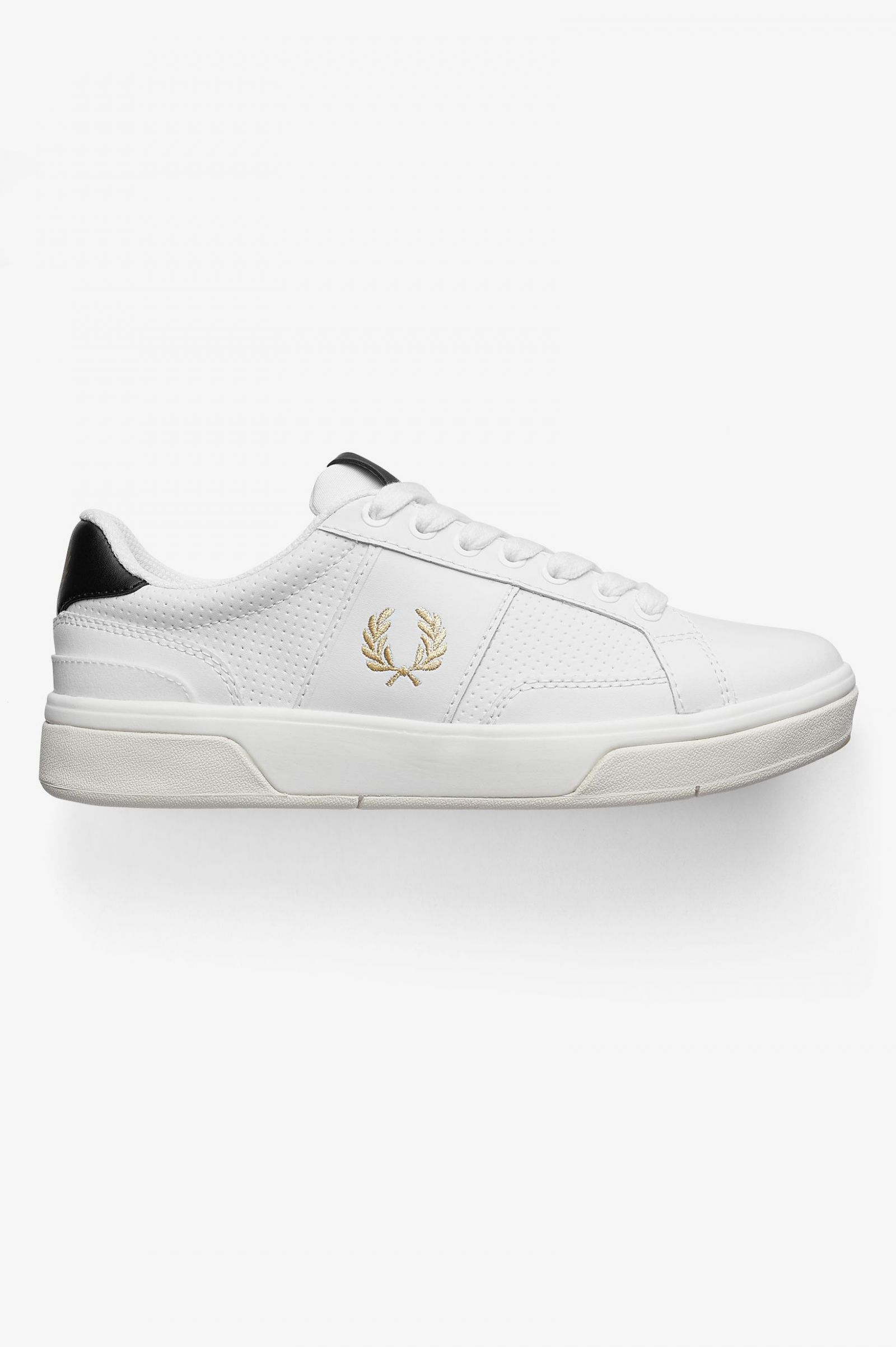 B200 aus perforiertem Leder Weiß | Schuhe für Herren