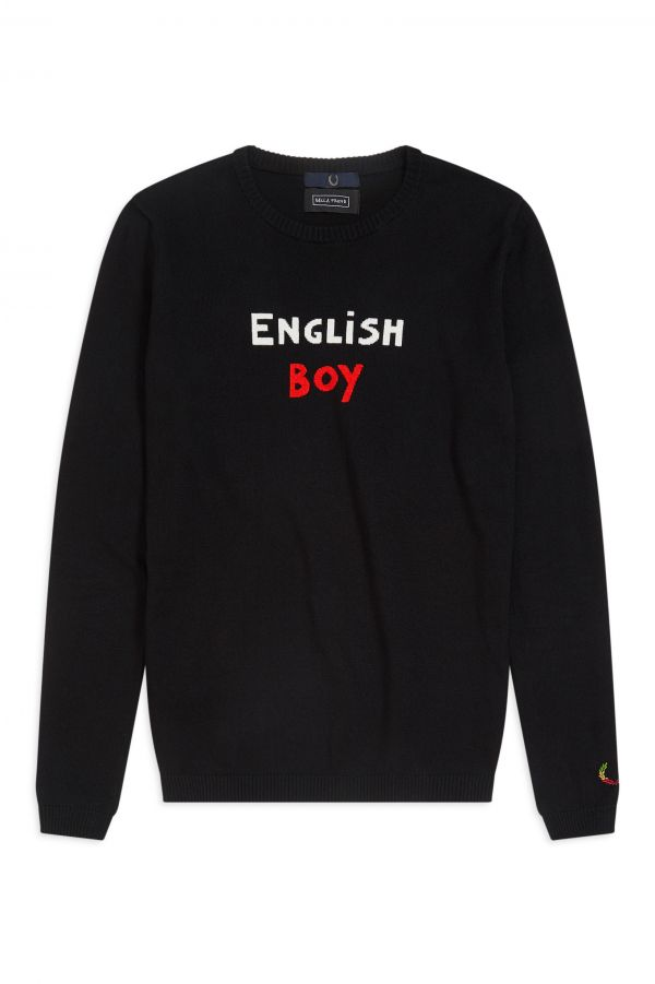 "Bella Freud Camisola ""English Boy"""