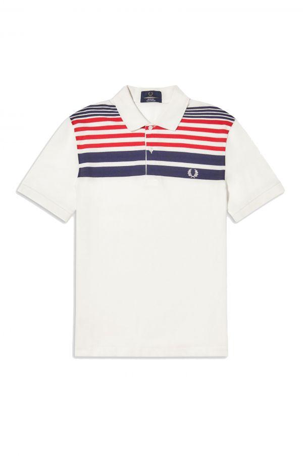 Reissues Striped Piqué Shirt