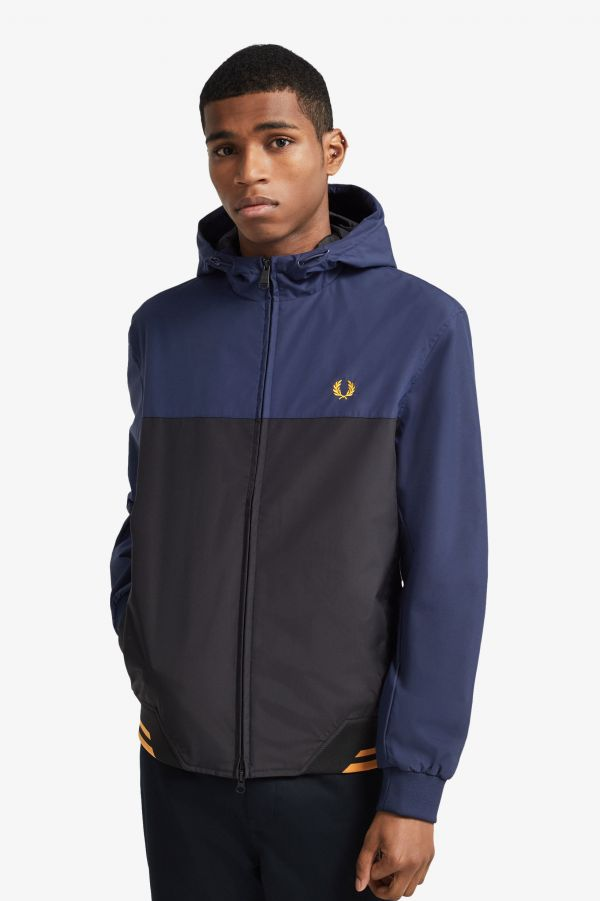 Colour Block Hooded Brentham Jacket