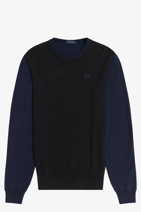 Refined Cable Knit Jumper