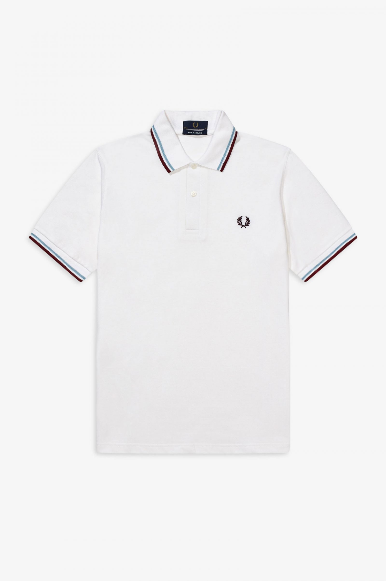 Fred Perry Mens Twin Tipped Polo Shirt-m1200