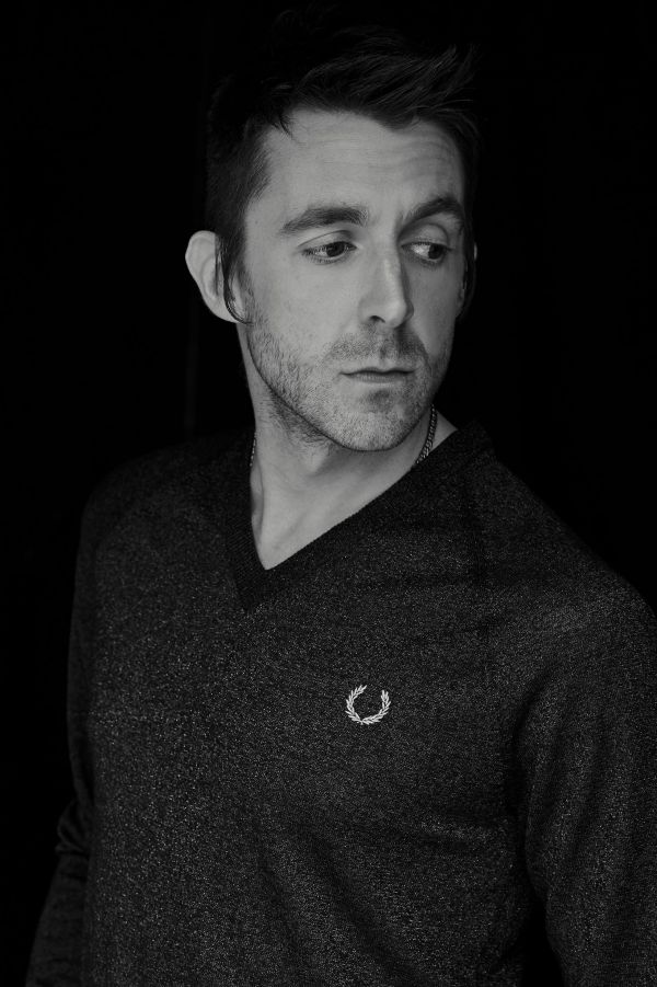 Miles Kane Metallic V-Neck Jumper
