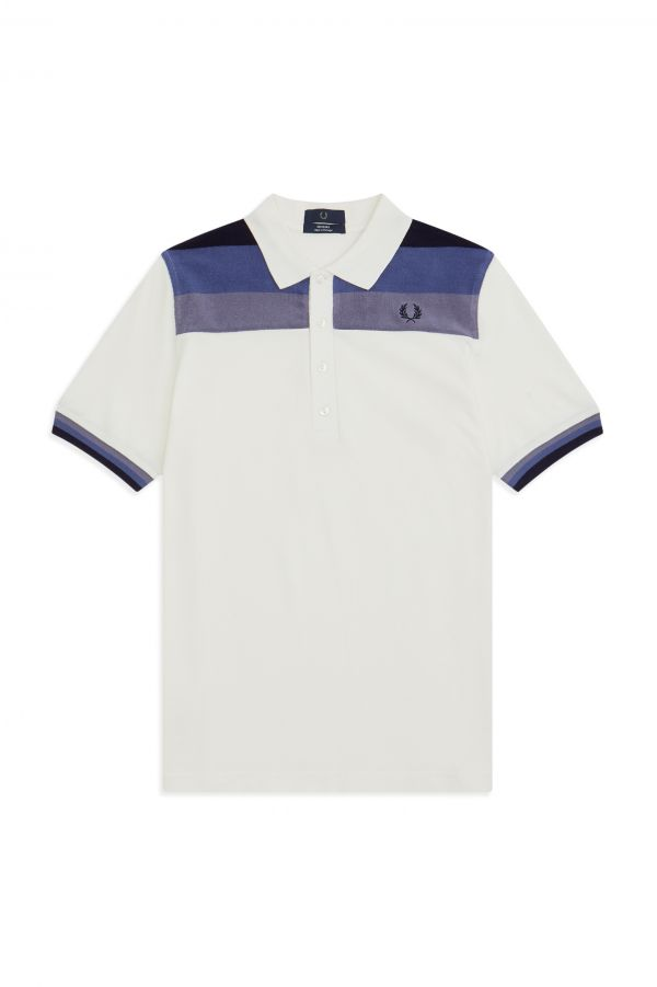 Reissues Polo In Piqué Con Inserti In Spugna