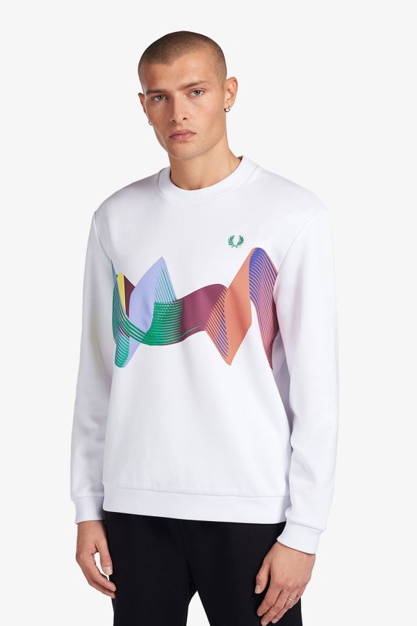 Abstract Sport Sweatshirt