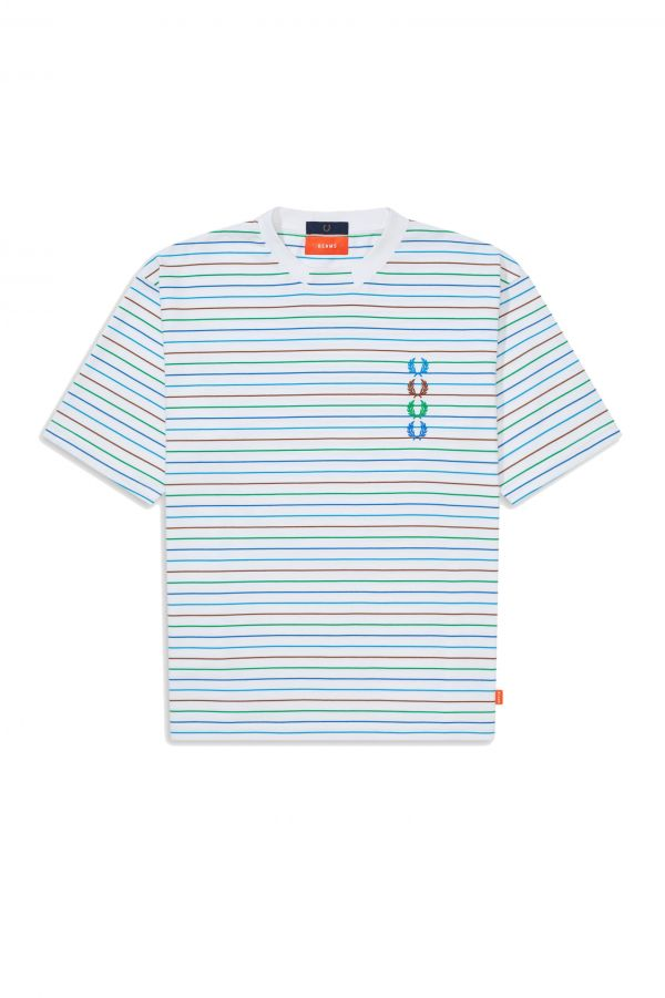 Beams Gestreiftes T-Shirt