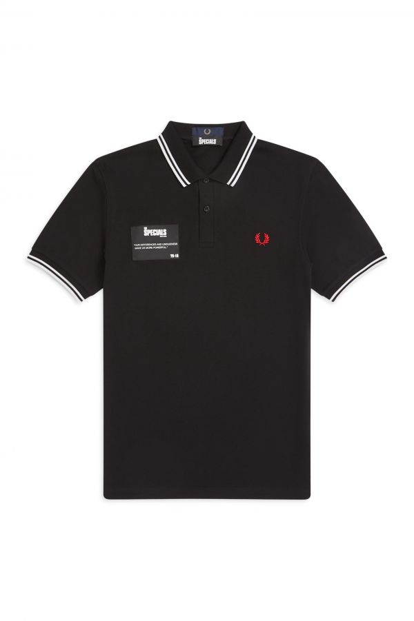 The Specials Patch Polo Shirt