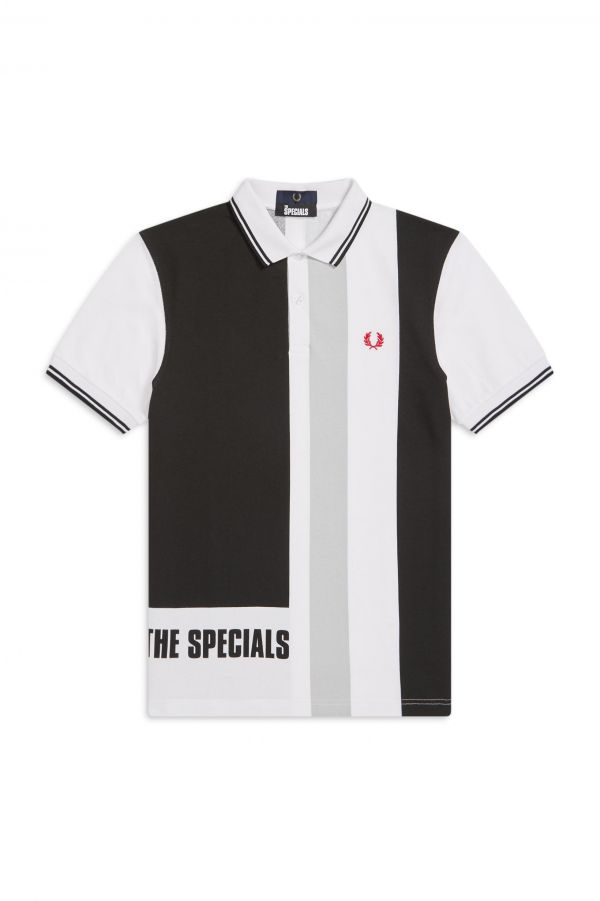 The Specials Gestreiftes Poloshirt