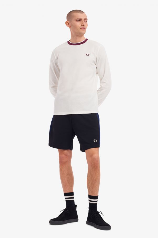 Crepe Jersey Long Sleeve T-Shirt