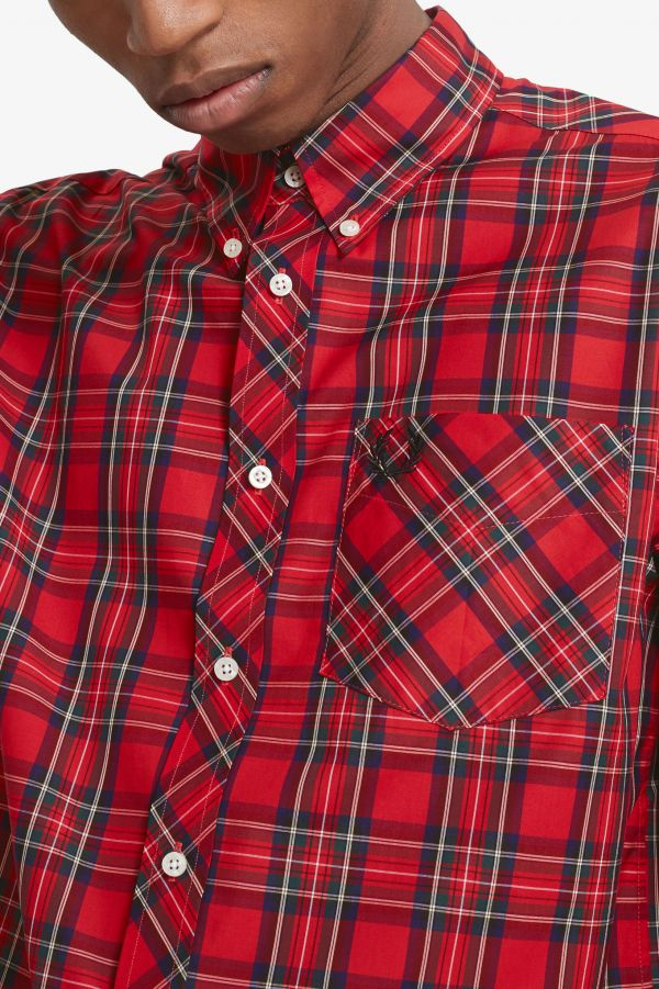 Made In England Camisa de cuadros escoceses