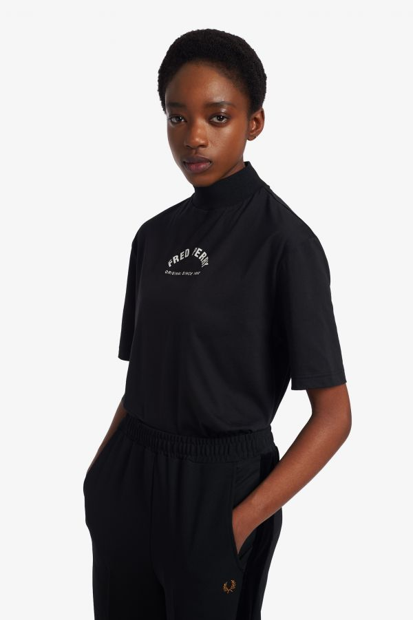 Arch Branded High Neck T-Shirt