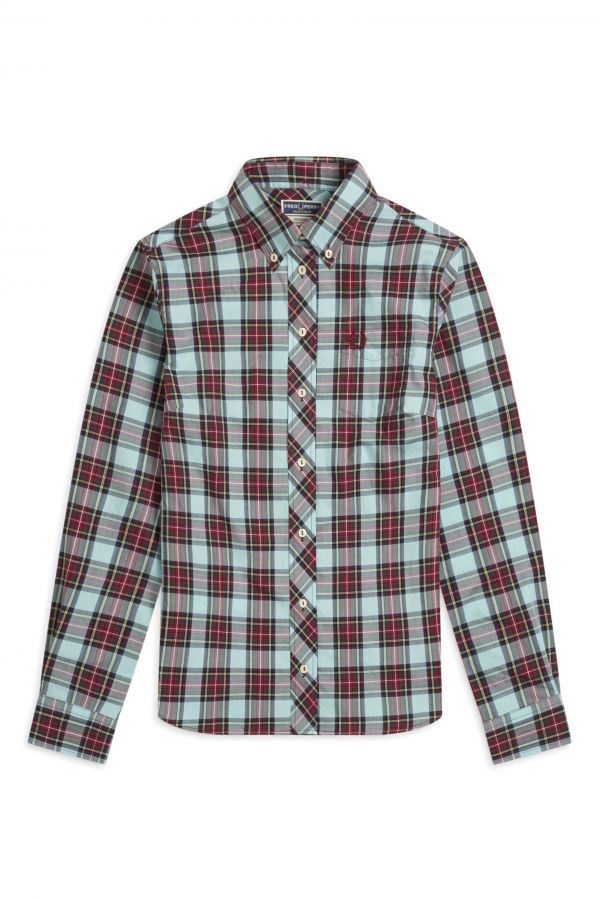 Reissues Button Down Tartan Shirt
