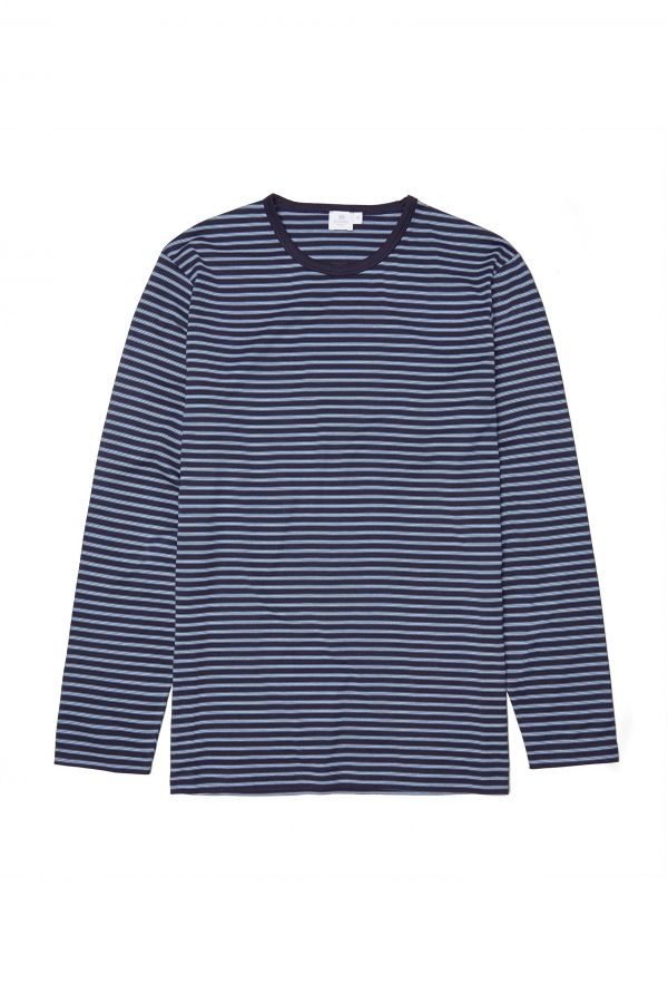 Sunspel Inner Stripe T-Shirt