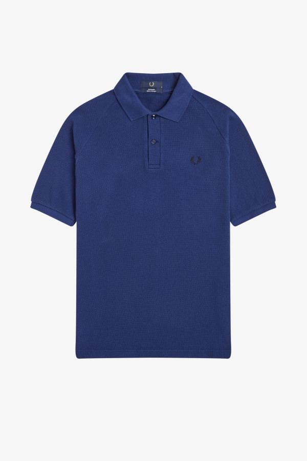 Textured Piqué Polo Shirt